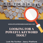 What About Jaaxy Keyword Tool-Pinterest