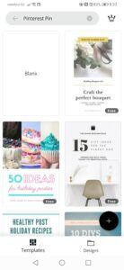 Canva Pinterest Template