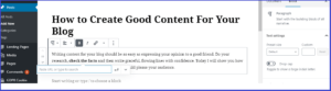 how to use gutenberg editor in wordpress-add-links