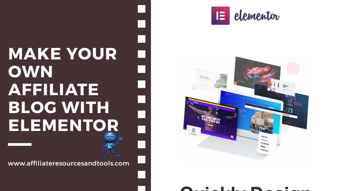 Make Your Own Affiliate Blog with Elementor