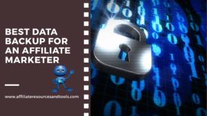 best data backup for an affiliate marketer