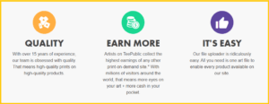 Is Teepublic a scam_advantages